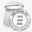 (OPCIONAL) Impresión de logotipo en viseras